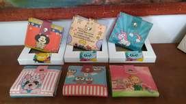Billeteras con diferentes diseños