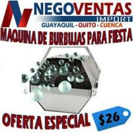 MAQUINA DE BURBUJA