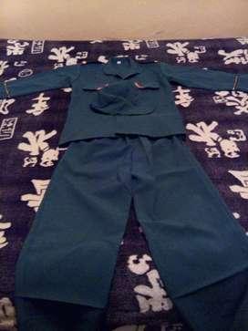 Disfraz de soldado para niño.