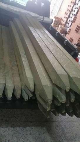 Trafico pesado se vende madera plastica