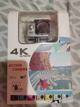 Camara de action 4K ultra HD