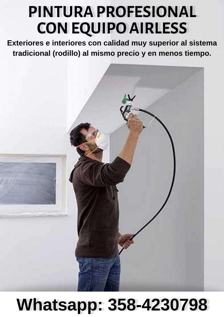 Pintores Profesionales con Equipo Airless (sin aire) 0
