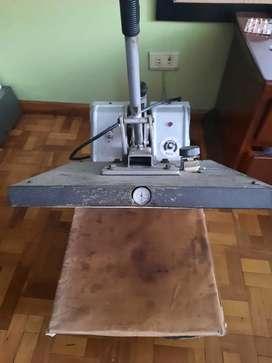 Maquina de sublimar tela