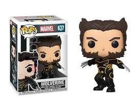 Funko Pop Wolverine Traje Negro X-men 20 aniversario películas