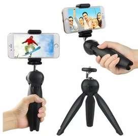 Trípode profesional + soporte para celular cámaras Digitales