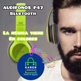 Audifonos Bluetooth en el color que más te guste