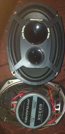 Parlantes para stereo