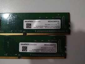 Memorias Ram 4gb 4x2