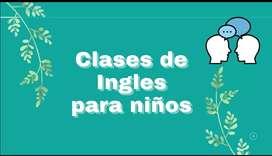 Clases virtuales de ingles para niños