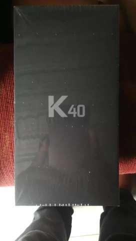 Vendo k40 nuevo con todo de paquete..negociable