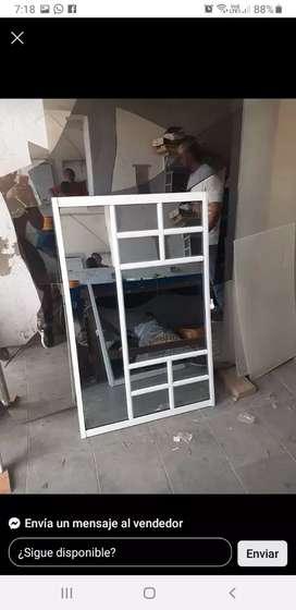 Ventanas puertas aceros vidrios aluminios espejos gabinetes