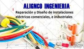 Reparación y Diseño de instalaciones eléctricas comerciales, e industriales