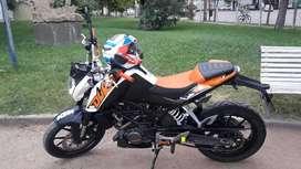 Vendo moto KTM 200 Duke