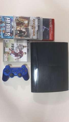 Playstation 3: Cable De Datos/cable Poder Mas Juegos