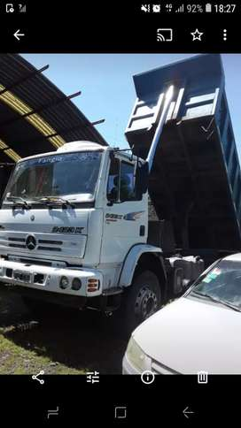 Camion 6x4  tatoo mercedes benz 2423