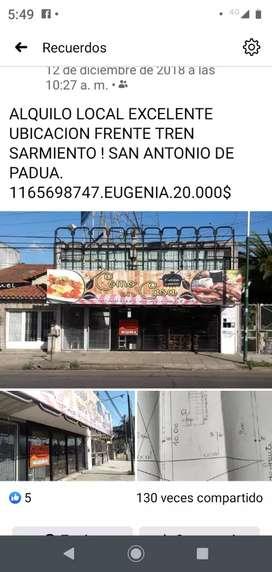 Alquiler local San Antonio de Padua