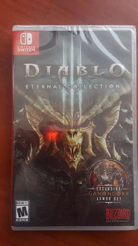 Diablo lll eternal collection standard edition nintendo switch