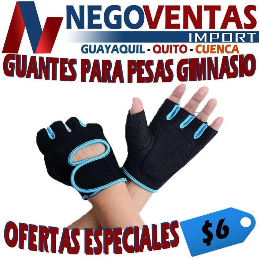 GUANTES PARA PESAS GIMNASIO PRECIO OFERTA 6,00 0