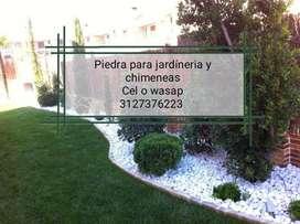 para su jardin y chimeneas piedra blanca triturada y pulida diferentes tamaños