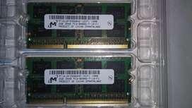Memoria Ram Ddr3 1060mhz para Macbook