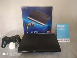 PS3 ULTRASLIM 250gb 20 juegos 1 joystick
