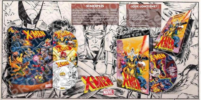 Xmen 1992 Serie Animada Completa Latino 0