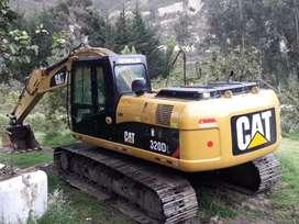 vendo excavadora 320dl año  2008