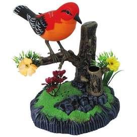 Ave heartful Bird Con sonido y movimiento