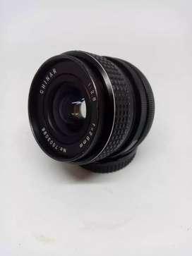 Lente Canon FD 28mm 2.8