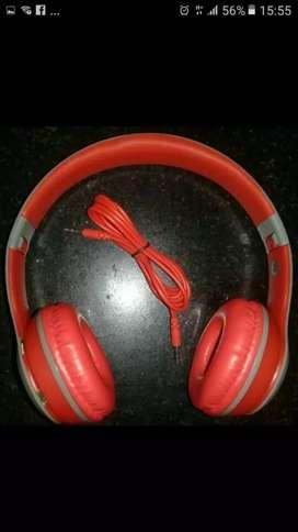 Auricular TM-19S Rojo