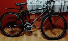 Vendo Bicicleta en Excelente condición.