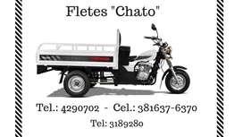 """Fletes """"Chato"""" motocarro"""