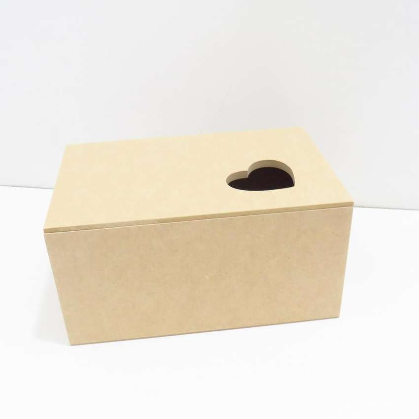 caja de madera mdf con diseño corazon arte country empaques personalizados regalos amor y amistad 0