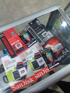 Memoria Micro SD 16GB 32GB 64Gb