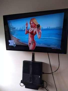 VENDO COMBO XBOX 360 Y TV 32