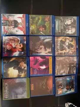 Venta de películas Blu-ray