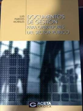 """Vendo libro original 9.9 de 10 """"DOCUMENTOS DE GESTION"""""""