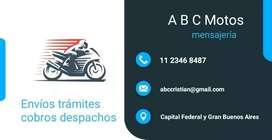 Mensajería ABC Motos