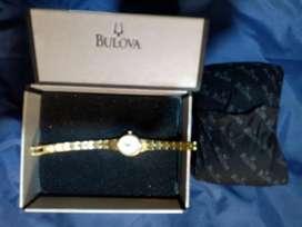 Reloj Bulova Dorado para Niña o Dama