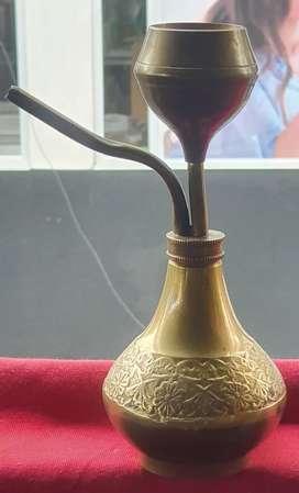 Figura en bronce (narguila)