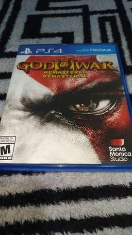 God of war 3 remastered usado para ps4