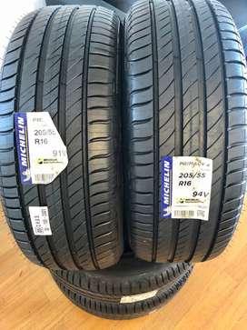 Cubiertas Michelin Primacy 4 205 55 16 Corolla Vento 308 408 C4 EL MEJOR PRECIO