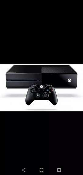 Xbox one con un control..