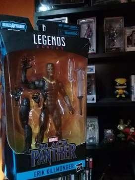Black Panther Erik Killmonger Marvel Legends