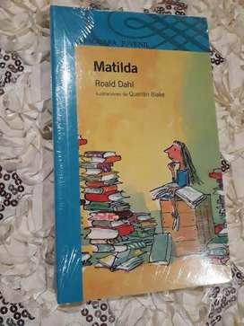 "VENDO LIBRO ""MATILDA"" DE Roald Dahl"