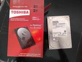 Disco duro Sata para PC 2 teras
