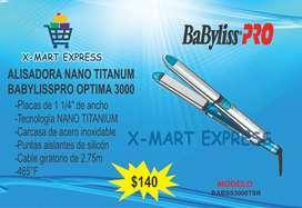 Alisadora Nano Titanium BABYLISSPRO Optima 3000