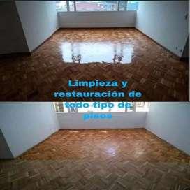 Pulido y restauración de pisos