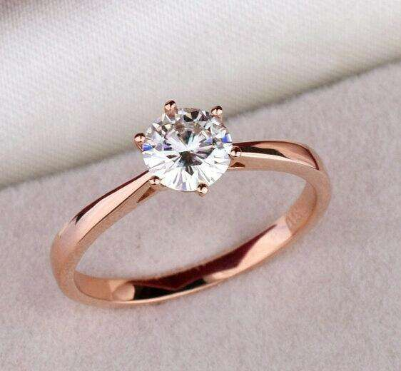 Anillos de Compromiso Oro 18k Diamante Aniversario Matrimonio Plata Celular S8 iPhone Navidad 0
