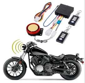 12V Alarma antirrobo para motocicleta Sistema de seguridad Control remoto Arranque del motor  Anti-secuestro